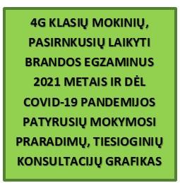 Konsultacijos 4G kl.